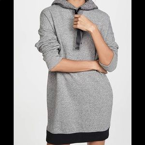 NWT ATM Anthony Thomas Melillo Marled Hoodie Dress